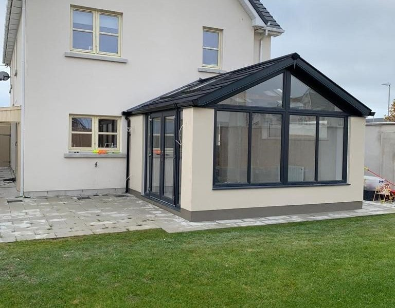 Extending an A rated Home with a Sunroom Left Side