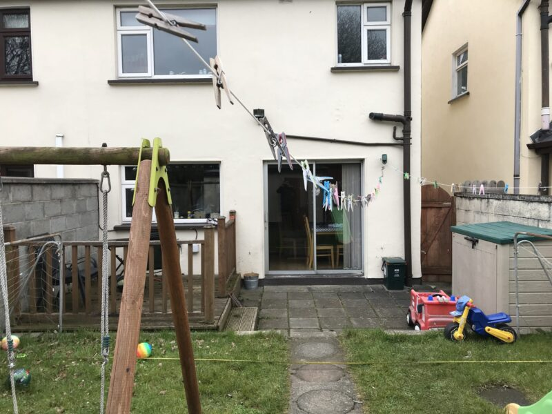 Kitchen Extension Sunroom Before