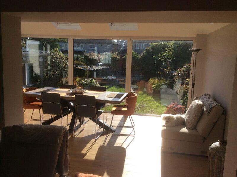New Sunroom Dining Room Inside