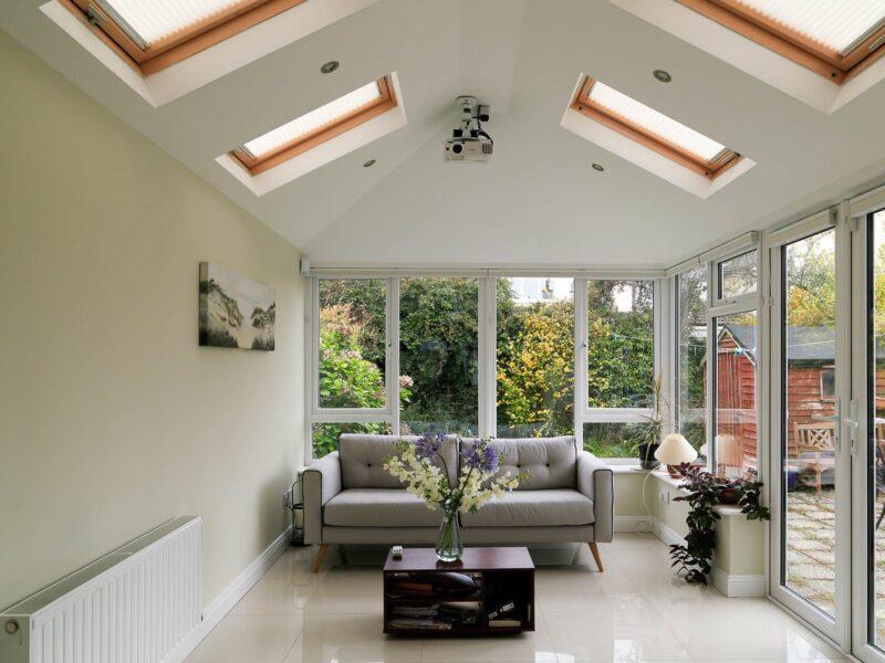 New Sunroom Living Room
