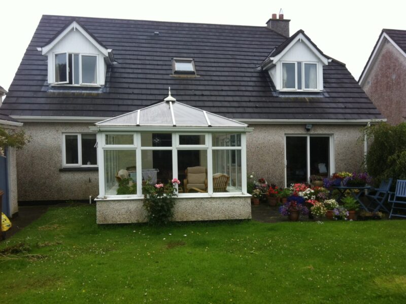 New Sunroom to Replace a Conservatory Before