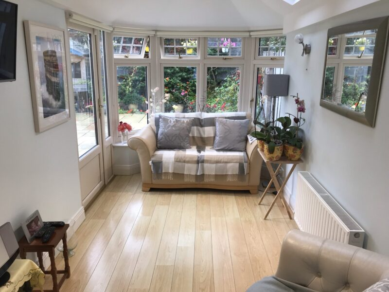 Sunrooms for Semi detached homes Internal