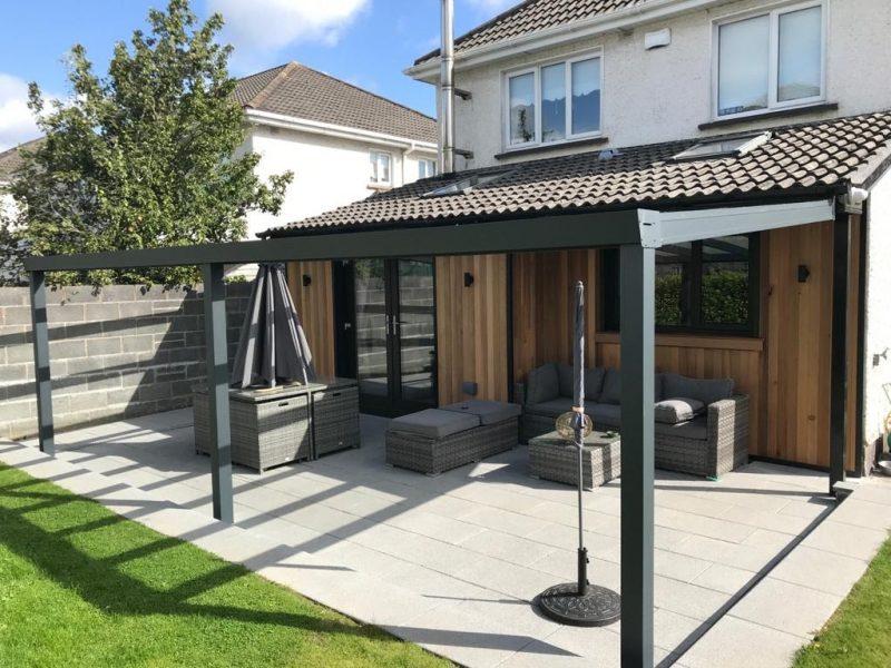 Installing A Veranda Patio Cover On A Bungalow 2