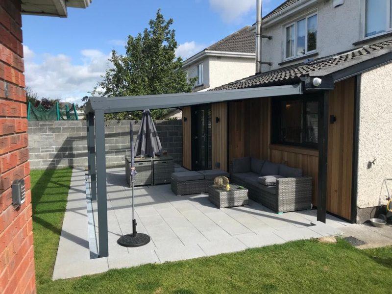 Installing A Veranda Patio Cover On A Bungalow 3